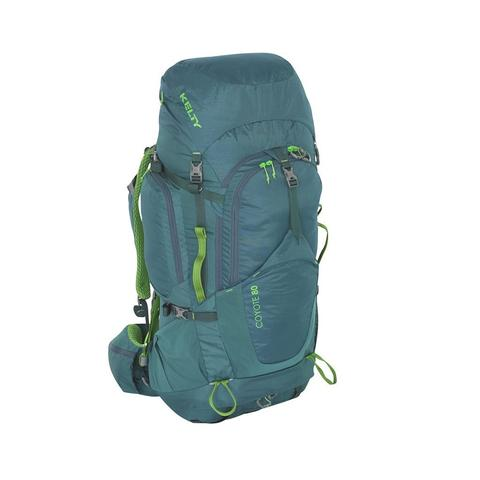 Kelty | Coyote 80 Backpack | Multi-day Hiking Rucksack | Green