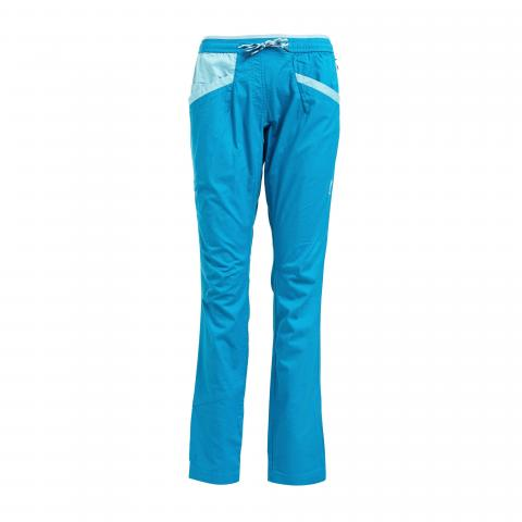 LA Sportiva Women's Temple Climbing Pants, Blue/BBL