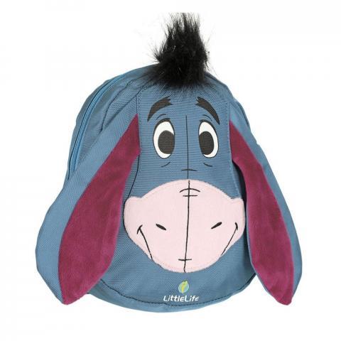 LittleLife Disney Toddler Backpack with Rein (1.5L)-Eeyore