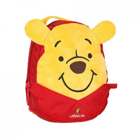 LittleLife Disney Toddler Backpack with Rein (1.5L)-Winnie