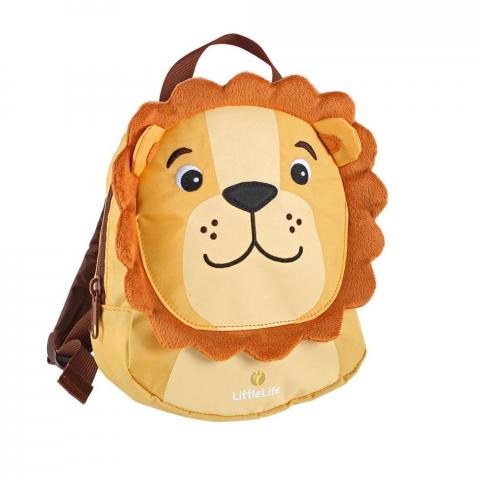 LittleLife Toddler Backpack with Rein-Lion