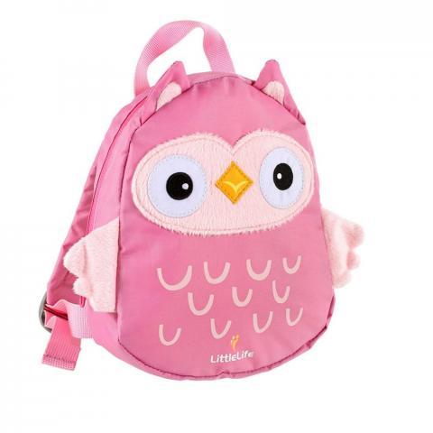 LittleLife Toddler Backpack with Rein-Owl