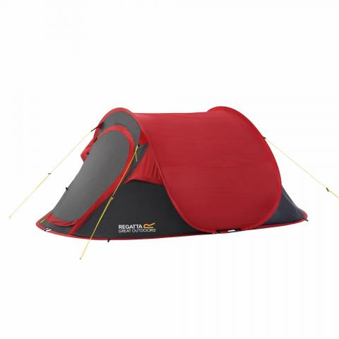 Malawi 2 Man Pop Up Festival Tent Pepper Seal Grey