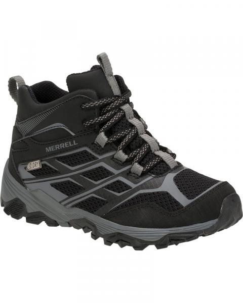 Merrell Kids' Moab FST Mid Waterproof Walking Boots