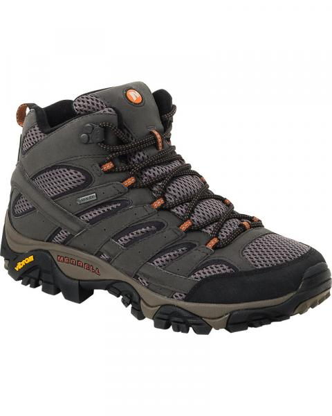 Merrell Men's Moab 2 Mid GORe-TeX Walking Boots