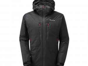 Montane Men's Flux Jacket, BLACK-RED/JACKET