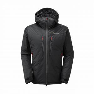 Montane Men's Flux Jacket, BLACK-RED/JACKET