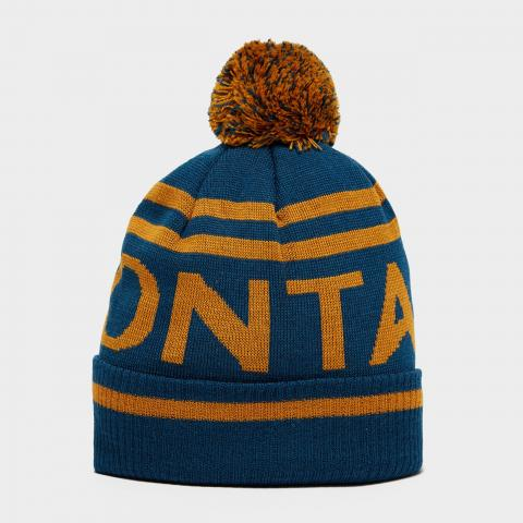 Montane Men's Logo Bobble Hat, BLUE/BLUE