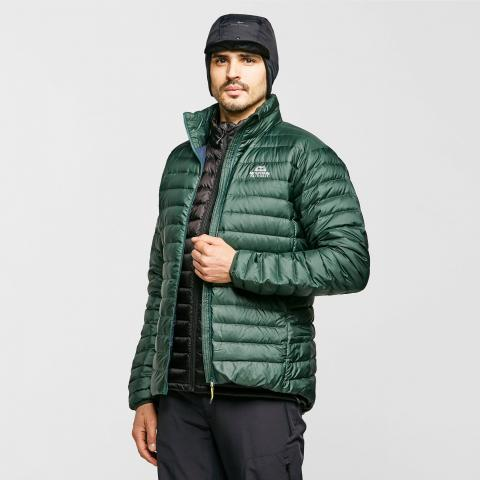 Mountain Equipment Men's Earthrise Down Jacket, Dark Green/Dark Green