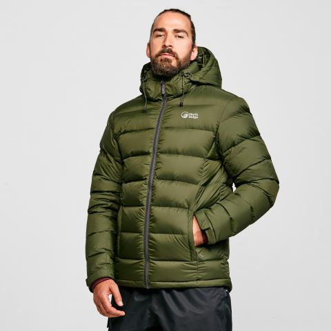 North Ridge Men's Tech Down Jacket, KHAKI/KHAKI