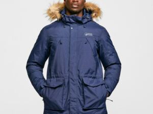 North Ridge Men's Tech Down Parka, NAVY/NAVY