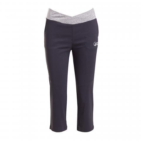 North Ridge Women's Vitality Cropped Pants, BLK/BLK