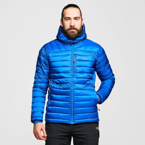 OEX Men's Idris Insulated Jacket, Blue/JACKET