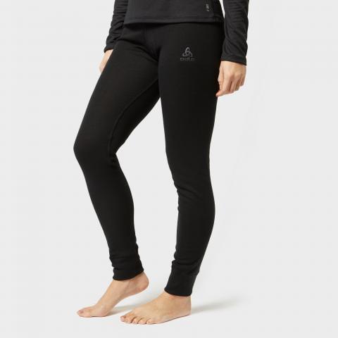 Odlo Women's Active Warm Pant, Black/Black
