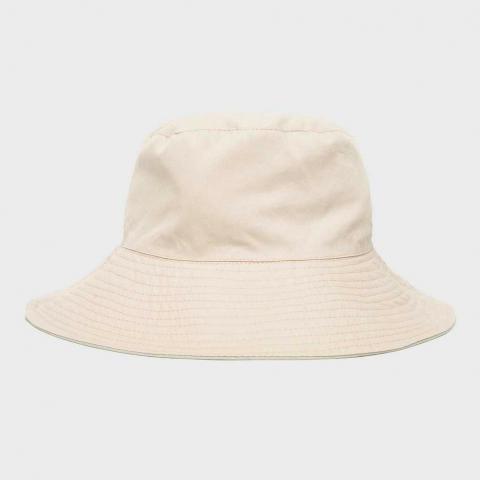 One Earth Women's Blossom Bucket Hat, White/White