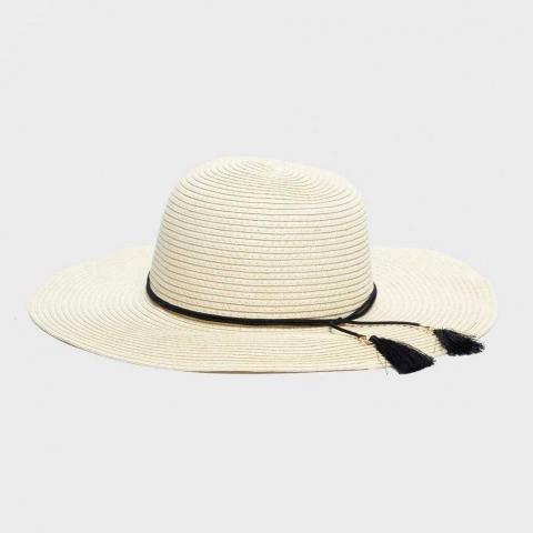 One Earth Women's Floppy Hat, Beige/Beige