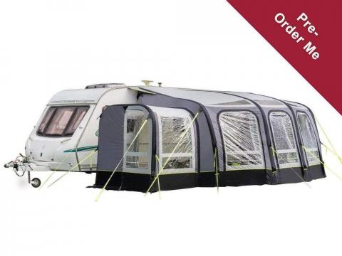 PRE ORDER View 420 Caravan Inflatable Porch Awning With Porch Extension - Back in stock January