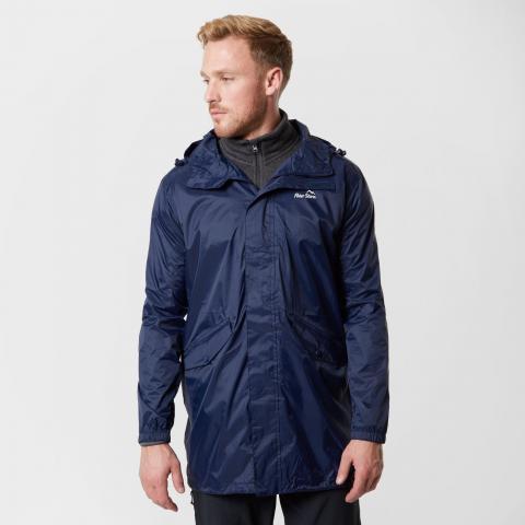 Peter Storm Men's Packable Parka Jacket, Navy Blue/NVY
