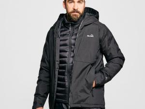 Peter Storm Men's Tech Insulated Jacket, BLACK/BLACK