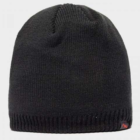 Peter Storm Men's Waterproof Beanie Hat, Black/BLK