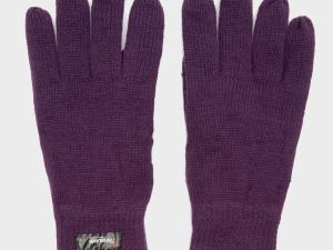 Peter Storm Thinsulate Knit Fleece Gloves - Purple/Pup, Purple/PUP