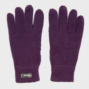 Peter Storm Thinsulate Knit Fleece Gloves - Purple/Pup, Purple/PUP
