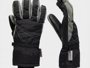 Peter Storm Women's 3M Ski Glove, Black/Black