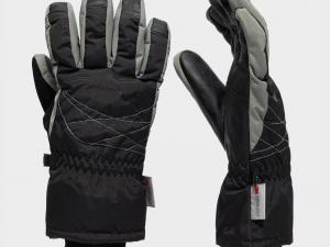 Peter Storm Women's 3M Ski Glove - Blk/Blk, BLK/BLK