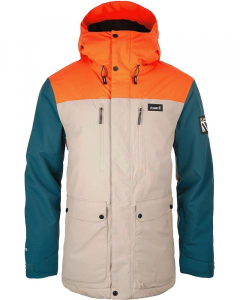 Planks Men's Good Times Insulated Parka Ski/Snowboard Jacket