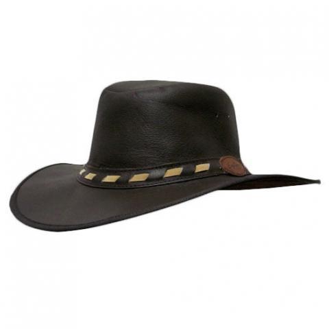 Pudney Kalahari King Leather Hat