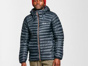 Rab Men's Cirrus Alpine Jacket, Grey/Grey