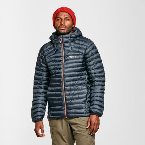 Rab Men's Cirrus Alpine Jacket, Grey/Grey