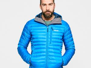 Rab Men's Microlight Alpine ECO Down Jacket, Blue/Blue