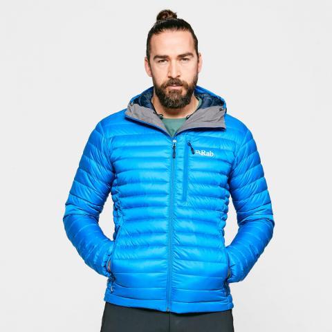 Rab Men's Microlight Alpine ECO Down Jacket, Blue/Blue