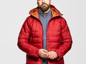 Rab Men's Valiance Waterproof Down Jacket, Red/Red