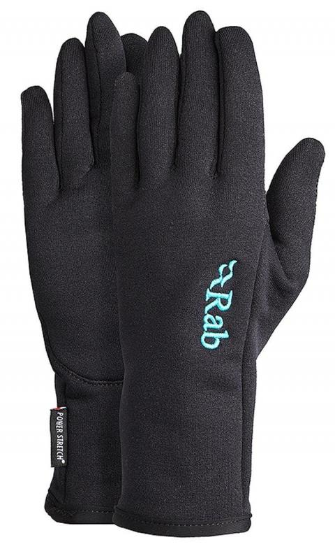 Rab Powerstretch Women's Glove, BLACK/WOMENS