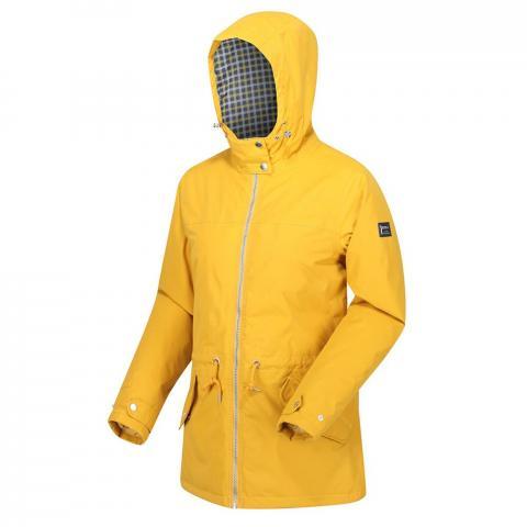 Regatta Womens Brigid Waterproof Insulated Jacket-Mustard Seed-10