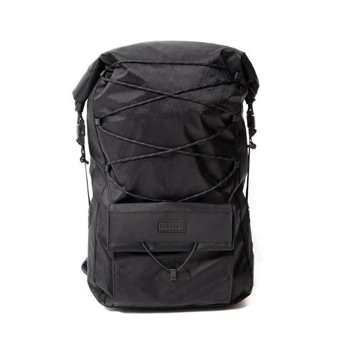 Restrap | Ascent Backpack | Roll Top Backpack | Waterproof | Black