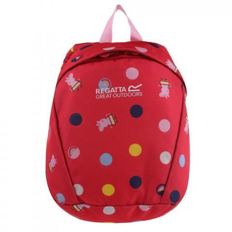Roary Animal Backpack Peppa Pig Bright Blush