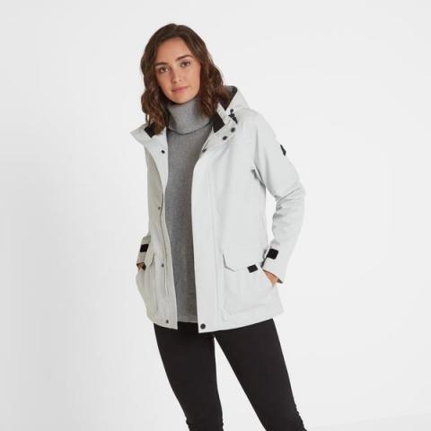 TOG24 Beamsley Womens Waterproof Jacket - Ice Grey