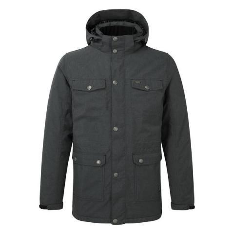 TOG24 Bexley Mens Milatex Jacket - Black Marl