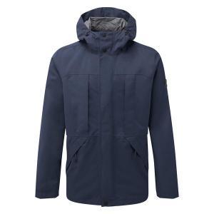 TOG24 Dawson Mens Long Waterproof Jacket - Naval Blue