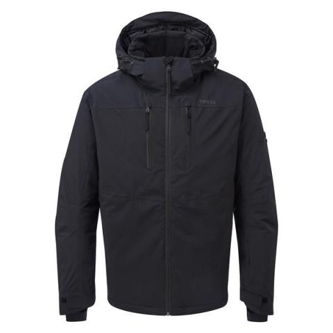 TOG24 Hawes Mens Waterproof Down Filled Ski Jacket - Black
