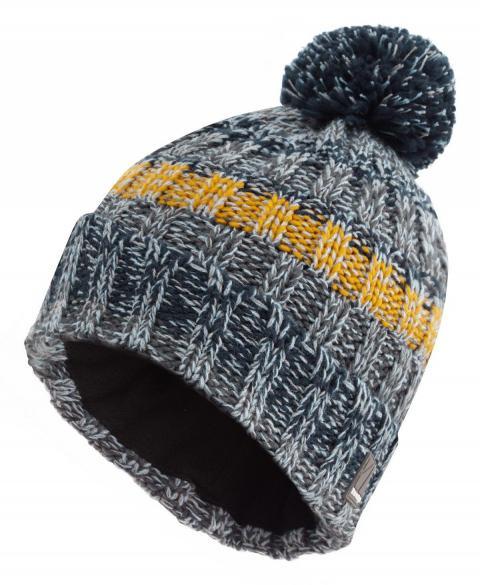 The Edge Men's Snowstorm Hat, MID GREY/HAT
