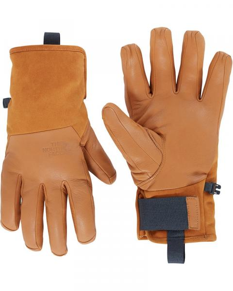 The North Face Men's Leather Solo 2 DryVent Gloves