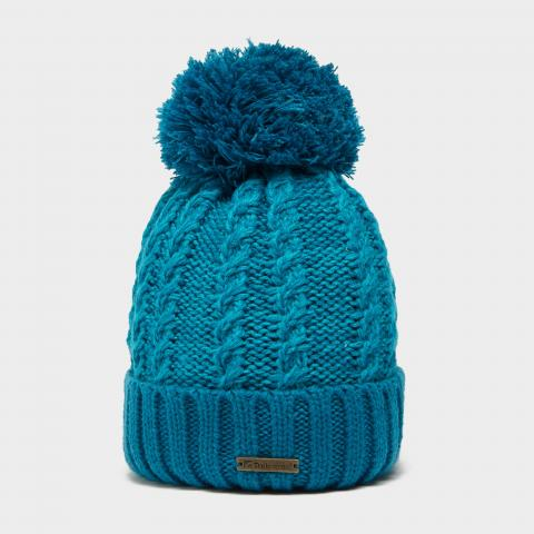 Trekmates Women's Elsie Knit Hat, TURQUOISE/TURQUOISE