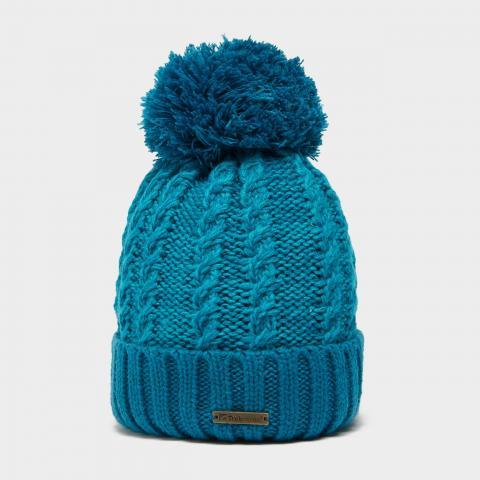 Trekmates Women's Elsie Knit Hat, TURQUOISE/TURQUOISE