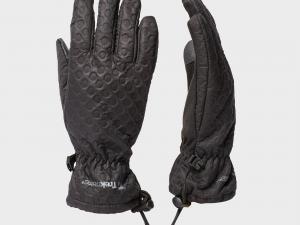 Trekmates Women's Keska Softshell Glove, Black/Black