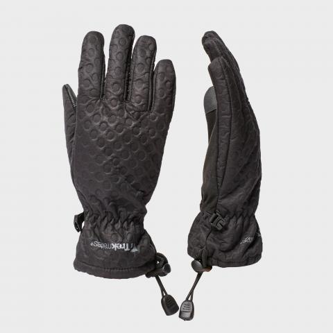 Trekmates Women's Keska Softshell Glove - Blk/Blk, BLK/BLK