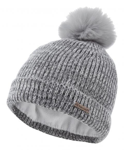 Trekmates Women's Melody Knit Hat, Grey/LGY